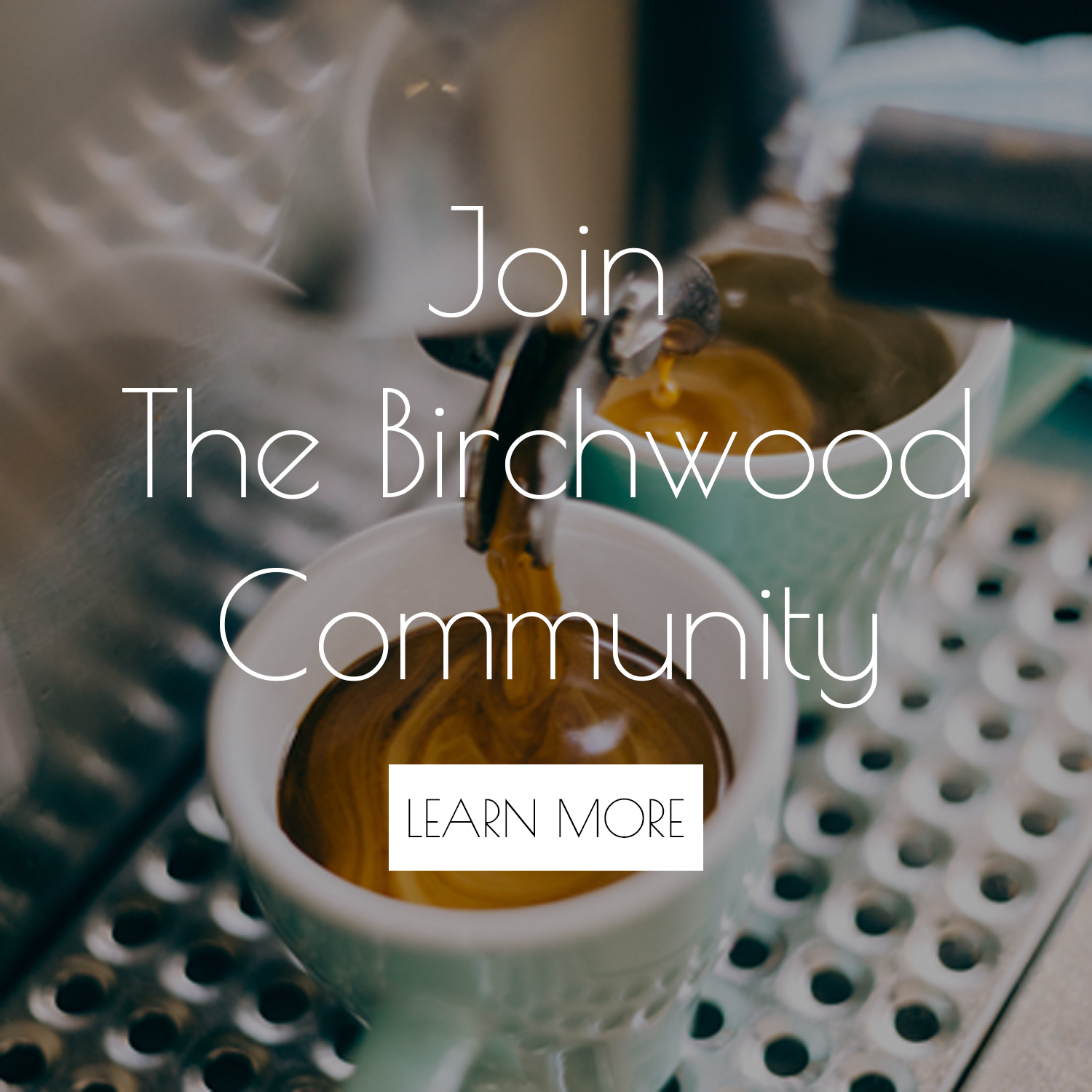 The Birchwood Espresso